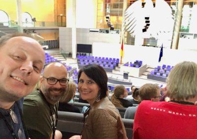Heavy Medal im Deutschen Bundestag, Berlin 2018